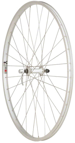 NEW Quality Wheels Value Series 1 Road Front Wheel 700c Formula / Alex Y2000 Silver