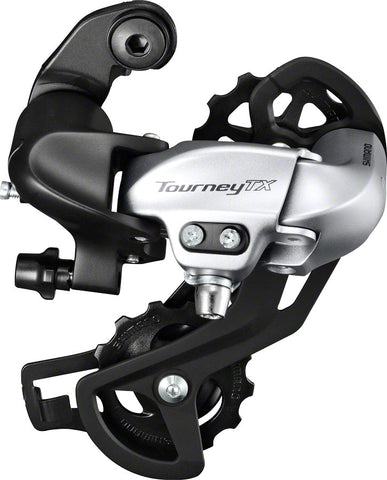 NEW Shimano Tourney RD-TX800 Rear Derailleur - 8 Speed, Long Cage, Silver, Shimano Rear Direct Mount