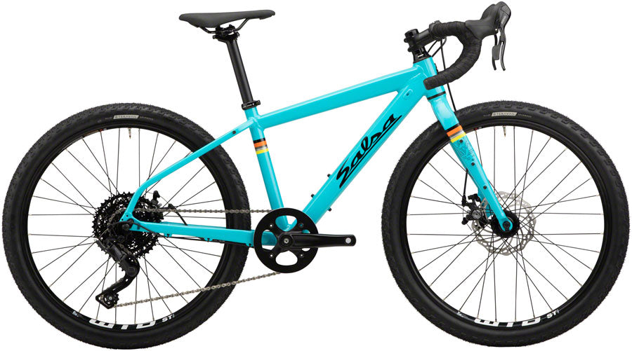NEW Salsa Journeyman 24 Bike - Teal Kids Bikes