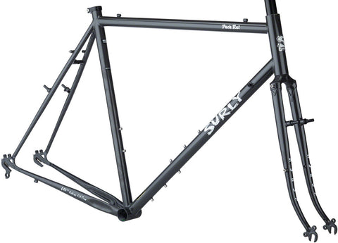 NEW Surly Pack Rat 650b Frameset - Gray Haze Touring Frame
