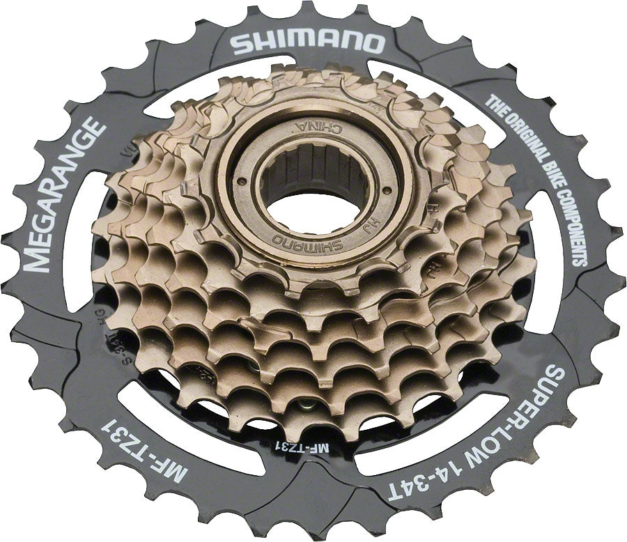 NEW Shimano TZ31 7-Speed 14-34t Freewheel