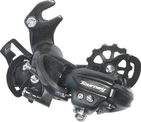 NEW Shimano Tourney TY300 6/7-Speed Long Cage Rear Derailleur with Frame Hanger
