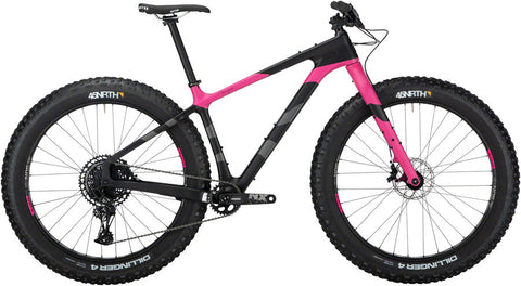NEW Salsa Beargrease Carbon NX Eagle - Pink Fat Bike