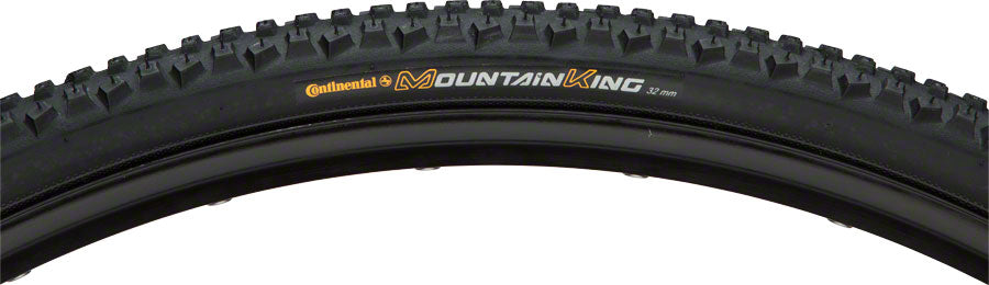 NEW Continental Mountain King 700x32 Race Sport  Black Chili Rubber w/Folding Bead