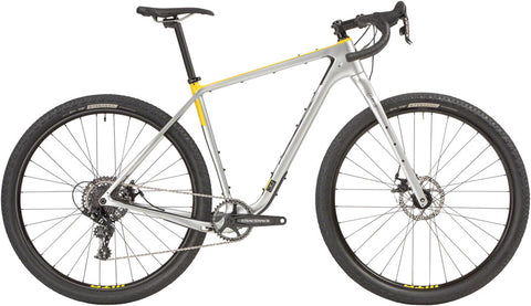NEW Salsa Cutthroat Carbon Apex 1 - Silver All-Road Bike