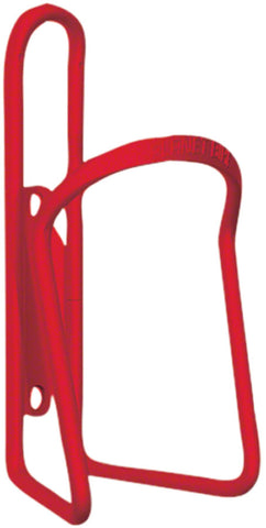 NEW Planet Bike Alloy 6.2mm Water Bottle Cage: Red Anodized
