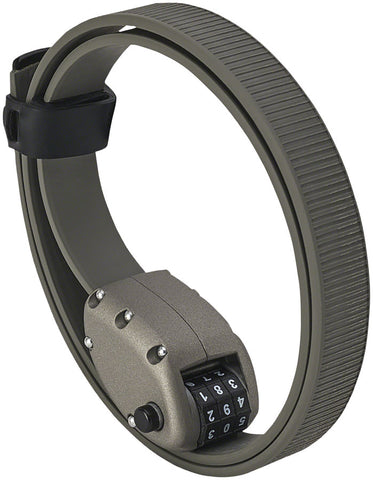 "NEW OTTOLOCK HEXBAND Cinch Lock: 30"", Titanium Gray"