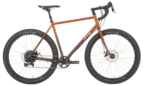 NEW All-City Gorilla Monsoon Bike - 650b, Steel, APEX, Root Beer Keg, 49cm