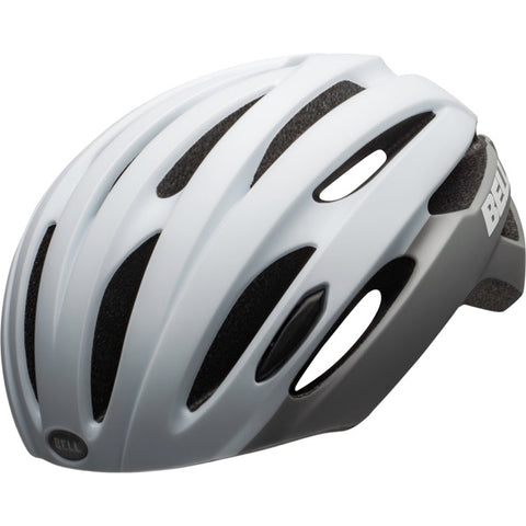 Bell Avenue MIPS LED Adult Bike Helmet - Matte/Gloss White/Gray - UA (54-61 cm)
