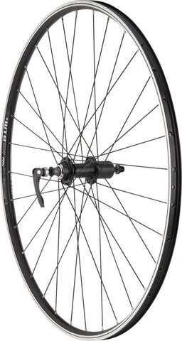 NEW Quality Wheels WTB DX17 Hybrid Rear Wheel - 700, QR x 135mm, Rim Brake, HG 10, Black, Clincher