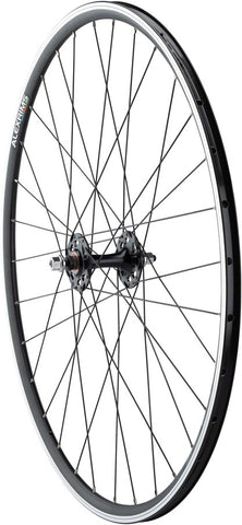 NEW Quality Wheels Track Front Wheel 700c Formula Cartridge / Alex DA22 Black