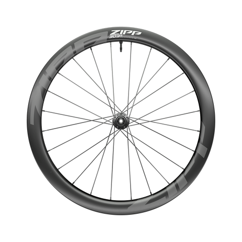 NEW ZIPP AM 303 S Carbon Tubeless Disc Brake Center Locking 700c Front 24Spokes 12x100mm Standard Graphic A1