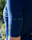 *NEW* Catella Women's Chantry Jersey Pacifica, Dark Blue w/yellow dots, Medium - Around the Cycle