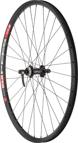 "NEW Quality Wheels Deore M610/DT 533d Front Wheel - 27.5"", QR x 100mm, Center-Lock, Black"