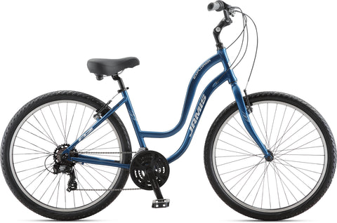 NEW 2020 Jamis Explorer A2 Step-Thru Hybrid Bike Deep Blue