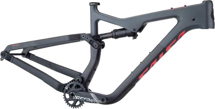 NEW Salsa Horsethief Carbon Frame - Charcoal/Raw Carbon Mountain Frame