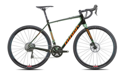 NEW 2020 Niner RLT 9 RDO Carbon Gravel Bike, 2-Star Shimano GRX 400, Olive Green/Orange