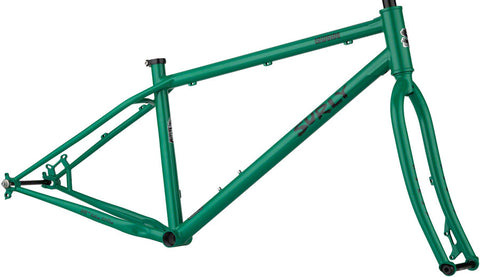 NEW Surly Lowside Frameset - Green Astro Turf Mountain Frame