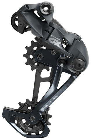 NEW SRAM GX Eagle Rear Derailleur - 12-Speed, Long Cage, 52t Max, Lunar