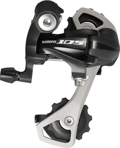 NEW Shimano 105 RD-5701-GS Rear Derailleur - 10 Speed, Medium Cage, Black