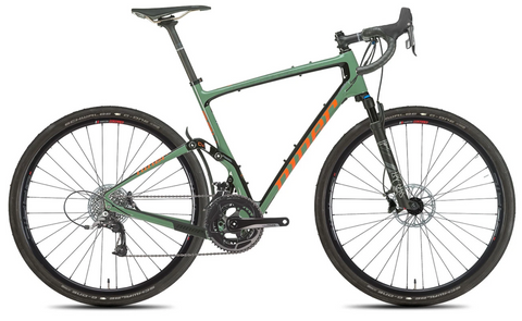 NEW 2020 Niner MCR 9 RDO Full Suspension Gravel Bike, 3-Star SRAM RIVAL 22, Olive Green/Orange