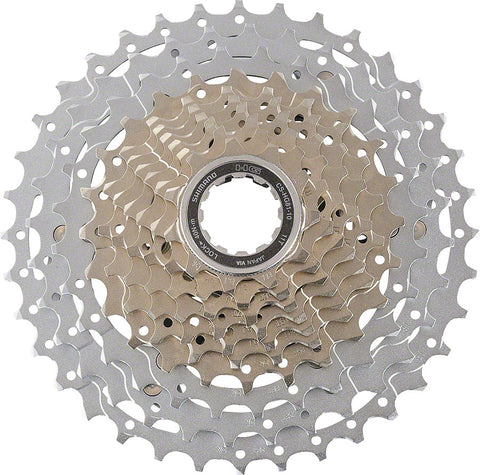 NEW Shimano SLX CS-HG81 Cassette - 10 Speed, 11-34t, Silver
