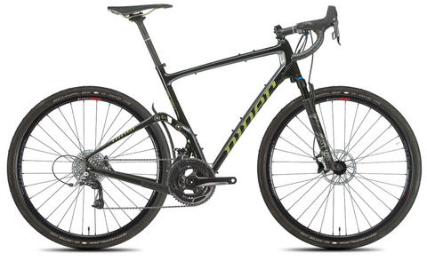 NEW 2020 Niner MCR 9 RDO Full Suspension Gravel Bike, 3-Star SRAM RIVAL 22, Black/Magnetic Gray