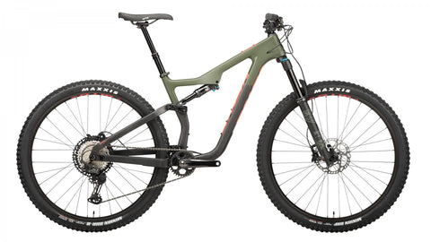 "NEW Salsa Horsethief Carbon XT Mountain Bike 29""- Green/Raw"