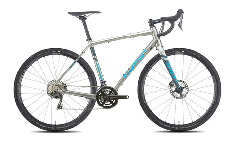 NEW 2020 Niner RLT 9 Gravel Bike, 5-Star Shimano GRX 800, 700c, Forge Grey/Skye Blue