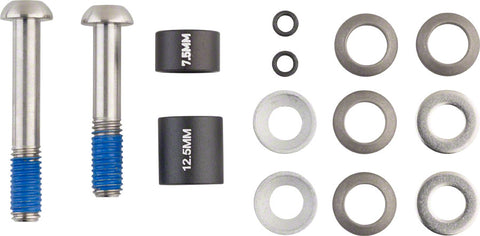 NEW Avid 20mm Disc Post Spacer Kit with Titanium Standard Bolts