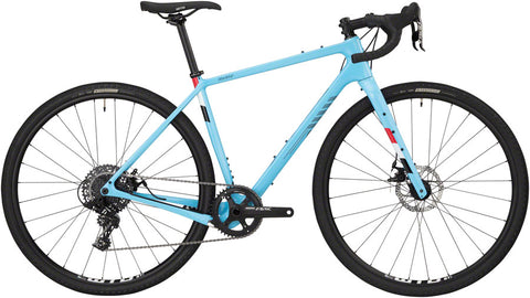 NEW Salsa Warbird Carbon Apex 1 - Light Blue All-Road Bike