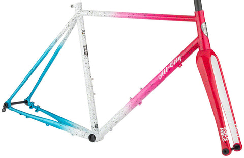 NEW All-City Nature Cross Geared Frameset - Cyclone Popsicle Cyclocross Frame