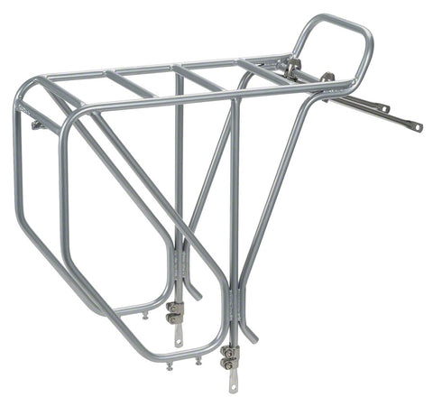 "NEW Surly 26""-29"" CroMoly Rear Rack: Silver"