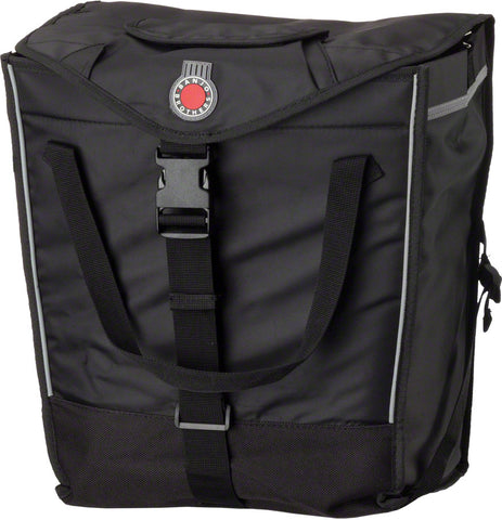 NEW Banjo Brothers Market Pannier: Black, Each
