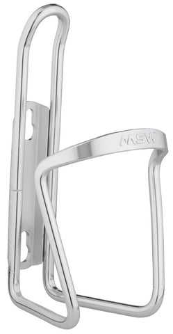 NEW MSW AC-100 Basic Water Bottle Cage: Silver