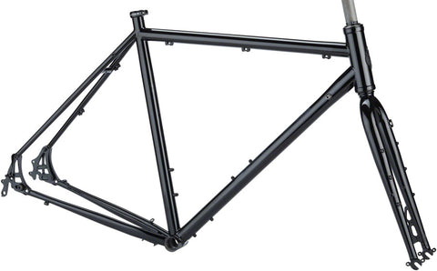 NEW Salsa Marrakesh Frameset - Black Touring Frame
