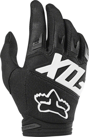 NEW Fox Racing Dirtpaw Race Gloves - Black, Full Finger, Men's