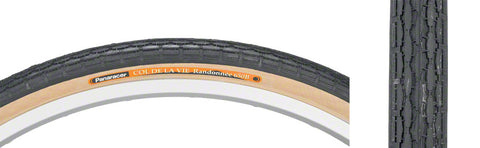 NEW Panaracer Col de la Vie Tire - 26 x 1 1/2, Clincher, Wire, Black/Tan, 60tpi
