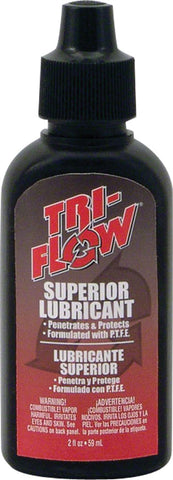 NEW TriFlow Superior Lubricant Squeeze Bottle: 2oz