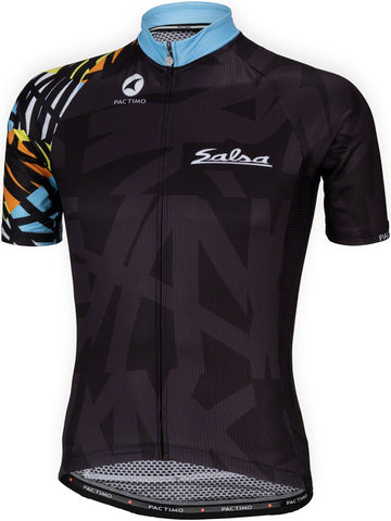 NEW Salsa Wild Kit Men's Short Sleeve Jersey: Multicolor MD