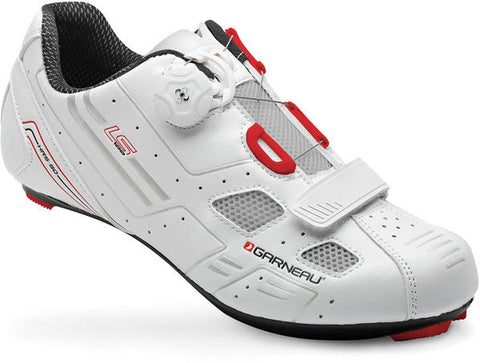 NEW Louis Garneau LS-100 White 40 US 7 Boa Men's Road Cycling Shoes