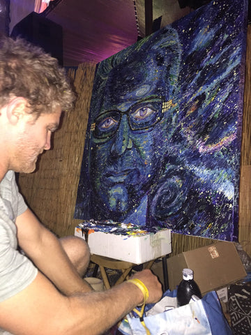 live painting Busciglio Art