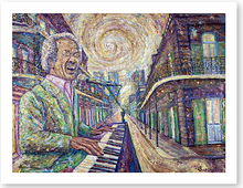 "Load image into Gallery viewer, ""HAPPINESS"" Allen Toussaint"