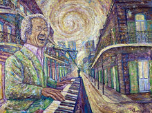 "Load image into Gallery viewer, Busciglio Art ""Allen Toussaint"" Painting"