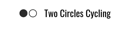 Two Circles Cycling