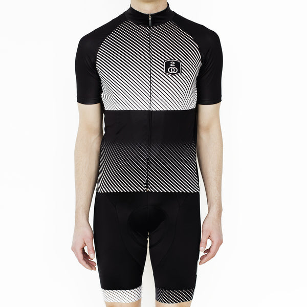Men's Stripes Jersey - Sale! - Two Circles Cycling  - 2