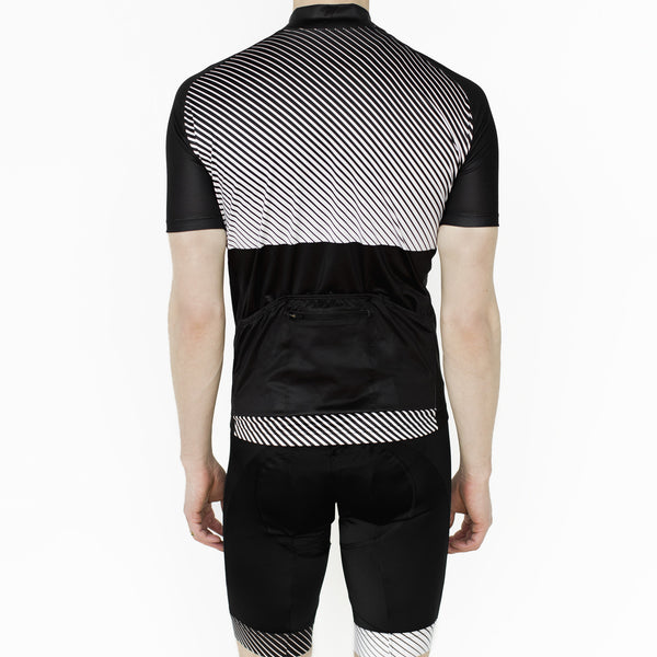 Men's Stripes Jersey - Sale! - Two Circles Cycling  - 3