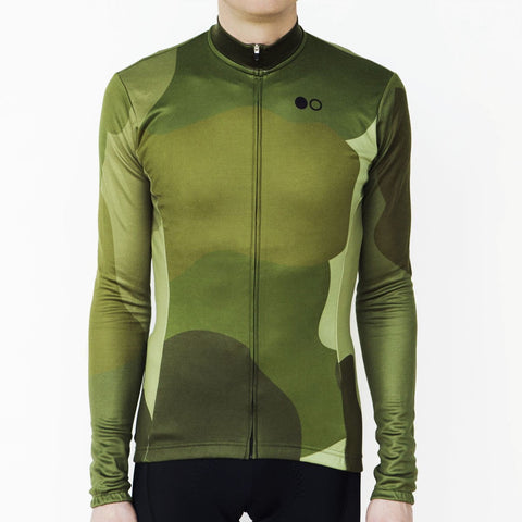 The Woodland Long Sleeve Merino/Poly Jersey