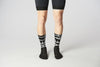 Cycling Socks HELL YEAH Black PROLEN®YARN