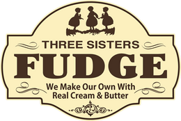 Three Sisters Fudge Logo